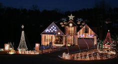 5. Felix Family Christmas Lights—224 Oliver Overlook, Dallas, GA 30132