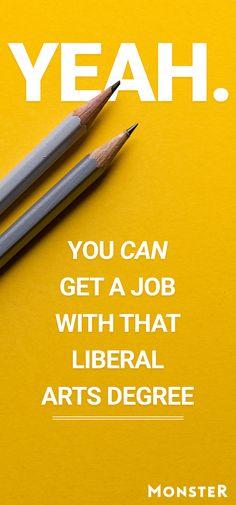 liberal arts degree jobs