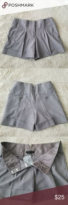 NWOT🎀BCBG MAXAZRIA PLEATED SHORTS ♡78% Polyester 17%Rayon 5% Spandex ♡NWOT ♡Size:6 ♡Please ask any questions/Request Additional Photos Prior To Purchase.  Pair this cute shorts with tights and your favorite booties to wear this into fall.( See last pic.for styling tip.☝️😉) BCBGMaxAzria Shorts