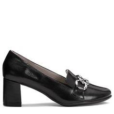 Aerosoles Women's Roxstar Loafers (Black Leather)