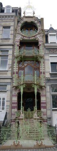 Art Nouveau house, Antwerp