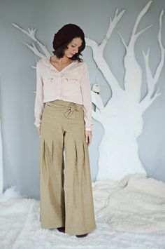 Whitney Misses Pants Sewing Pattern | Violette Field Threads