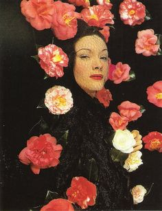 'Camellias', photo by Erwin Blumenfeld, 1943.