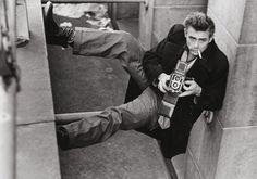 """James Dean, New York, 1954"" by Roy Schatt"