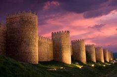 Ävila, ciudad amurallada declarada Patrimonio de la Humanidad. Debe ser impresionante. Este año, lo comprobaremos.