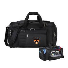 Princeton Kenneth Cole Tech Travel Black Duffel Bag