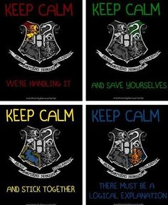 Day 15: Rate houses favorite to least favorite = Slytherin, Gryffindor, Ravenclaw, Hufflepuff