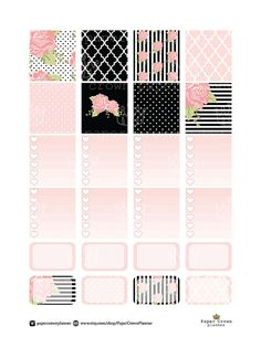 50%OFF SALE/HORIZONTAL Erin Condren Planner by PaperCrownPlanner