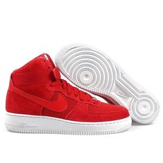 Sneakers Nike - Air Force 1 High 07 - Gym Red