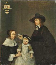 1653-54 Gerard ter Borch (1617-1681) The van Moerkerken Family