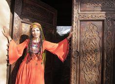 Hazaragi afghan traditional dress