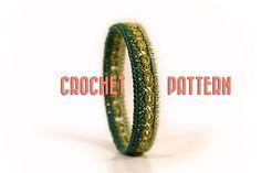 Crochet bracelet pattern  Romana  Crochet pattern  by MudenoMade