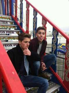 Jack and Finn. Pretty sure Finn is trying to kill me