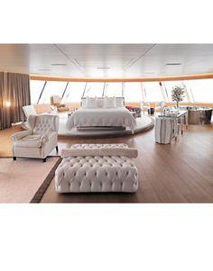 Aleksandra Melnichenko's Megayacht Photos - Photos of Aleksandra Melnichenko's Yacht - Harper's BAZAAR