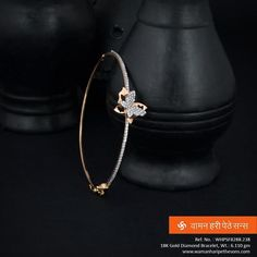 #Precious #luscious #diamonds en-crafted in one #bracelet for your #amazing look.
