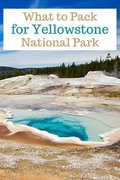 What to pack and how to prepare for a camping or backpacking trip to Yellowstone National Park. #backpackingyellowstone