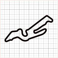 NV – Las Vegas Motor Speedway Outfield Course Sticker