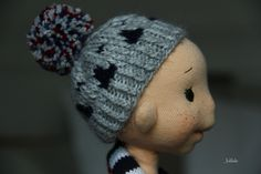 making dolls - profile face ...by julilale