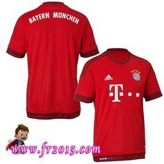 Maillot Bayern Munich match 2015-16 Domicile Maillots Foot Pas Cher