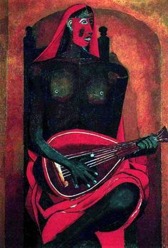 Rufino Tamayo. It would be interesting next to Picasso's Old Guitarist