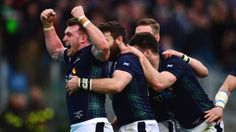 Six Nations Italy Scotland highlights - BBC Sport Scottish Rugby, Six Nations, Rugby Players, Glasgow, Scotland, Highlights, Italy, Poses, Couple Photos