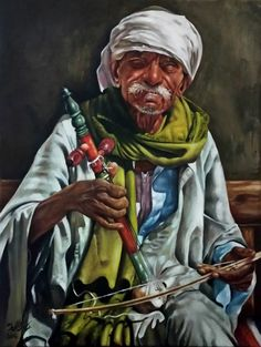 Adel Elliethy - egypt   Oil painting  Canvas 60 *80