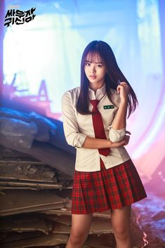 Kim Sohyun/Drama Let's Fight Ghost Korean Beauty, Asian Beauty, Sweet Girls, Cute Girls, Asian Woman, Asian Girl, Lets Fight Ghost, Bring It On Ghost, Kim Sohyun