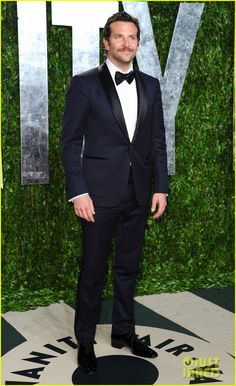 This year's sexiest man alive lived up to his title with his midnight blue tux with black satin shawl collar, looking like a Hollywood god – excepting the awful facial hair.