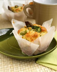 Muffin Salati agli asparagi