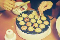 I have one of these takoyaki makers, my daughter was given one as a gift!  She spent her 11th grade in Japan as an exchange student. This was one of her fave dishes. Now we all love it!