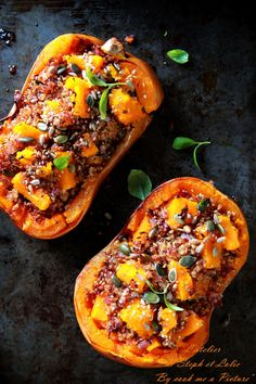 Butternut farci au quinoa – L'atelier de Steph et Lolie vegetarisch lifestyle recipes grillen rezepte rezepte schnell Thanksgiving Recipes, Fall Recipes, Soup Recipes, Vegetarian Recipes, Cooking Recipes, Vegetarian Lifestyle, Cooking Pork, Sauteed Zucchini Recipes, Easy Dinner Recipes