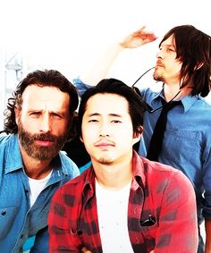 Andrew, Steven, & Norman SDCC '14