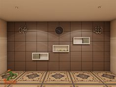 47 Praying Room Interior Design That You Can Try In Your Home # Design Prayer Corner, Islamic Decor, Prayer Room, Room Interior Design, Room Inspiration, House Plans, Sweet Home, Room Decor, House Design