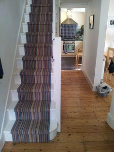 Lovely stair runner