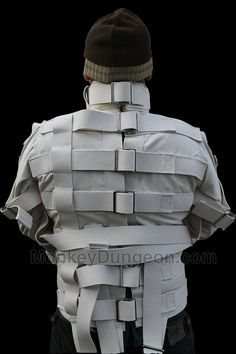 Authentic STRAIGHT JACKET for the Criminally Insane Vintage c