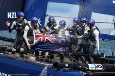 Victoire pour les NZ sur la Red Bull Youth America's Cup par A Kingman #RedBull #RBYAC #AmericasCup #SF | www.scanvoile.com