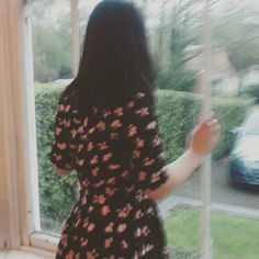 Me looking a bit daft here... #photography#blurry#picture#lookout#window#watch#hair#flower#dress#wow#pink#see#bay#spring#hands#style#fashion#cute#portraits#handson by jammy_dodgers96