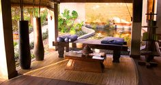 Experience the Caribbean's best spa with Laluna's Balinese masseuses.