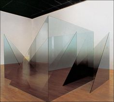 Larry Bell, First and Last, 1989