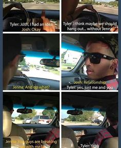 Jenna is so perfect. What makes this even better was that Tyler was about to amend his statement right before the vine ended