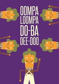 Poster Oompa Loompas