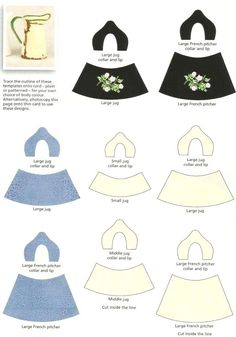 tutorial to use these printies to make faux enamel jugs is here: http://nadsa.over-blog.com/article-18076951.html