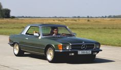 Mercedes Benz 350 SLC tuning 350 hp