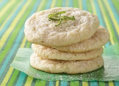 Caribbean Lime Coolers cookies.  I. LOVE. LIME!  Can't wait to try these...they'll be perfect for Friday night's meeting!