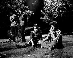 Rena Effendi - Friends listening to music in a park. Tehran, Iran. May, 2008