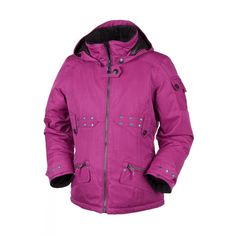 Obermeyer Girls Rosalee Jacket (Magenta) Studio