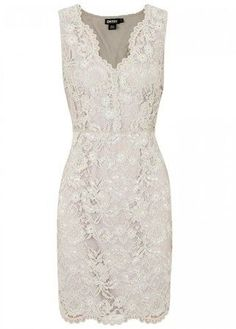 DKNY lace dress, fashionista, fashion girl, ideas para bodas, invitada de boda, wedding dress, ideas vestido de-encaje, vestido marfil