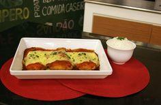 Aprenda a fazer a receita de Frango à Parmegiana