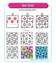 Dot Grid by Elaine Benfatto