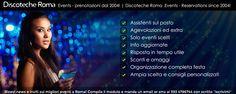 Discoteche Roma .events